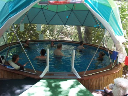 Gentle aquatic therapy dome - How to open a swimming pool after winter ...