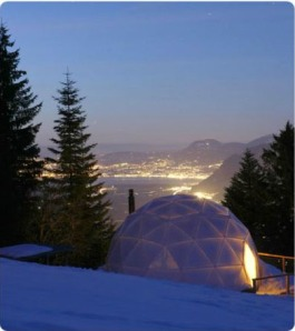 eco-living dome resort whitepod